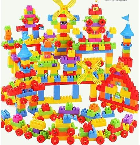 LFY Größe Bausteine  ür Kinder, Lernspielzeug, Größe Partikel