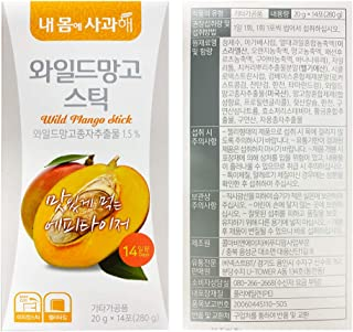 African Mango Diet Jelly (20g x 14 Packets) – A Healthy Diet, Natural Weight Loss Diet Supplement, Fast Acting Appetite Su...