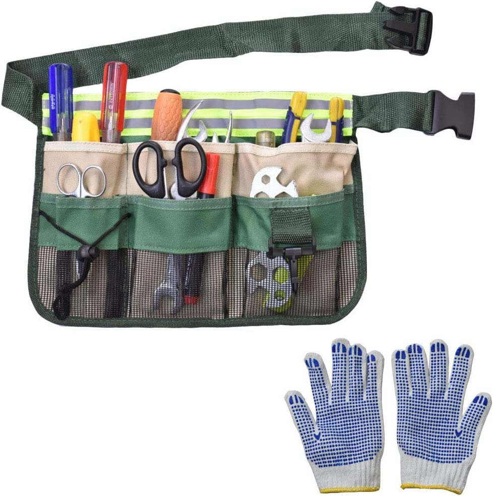 Limited price Gardening Tool Waist Bag wit Organizer Belt Apron Max 73% OFF