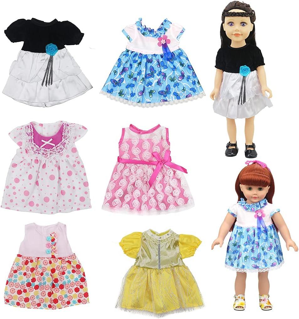 Lnrueg Doll Dress Set Decorative Cloth Thin Ranking TOP1 Fashion Challenge the lowest price of Japan ☆ Realistic Do