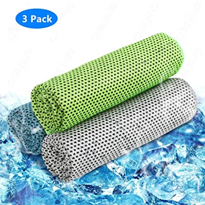 Cooling Towel 3 Pack Cooling Towels for Sports,...