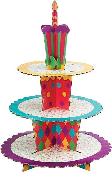 Disney Princess Three-Tier Cupcake//Snack Stand//Centerpiece Holds 24 Cupcakes
