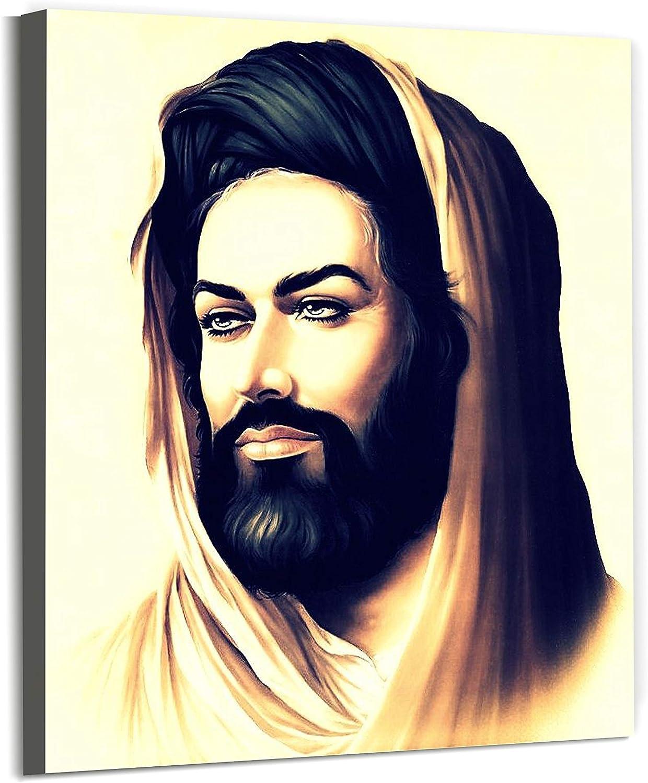 URAQ, Imam Hussain, Wall Art, Son of Imam ali, Canvas Prints, for Muslim Home Decorations