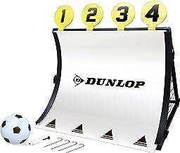 Dunlop voetbaldoel - 4-in-1 - met voetbal, pomp, doelschijven en haringen - 78 x 75 x 58 cm