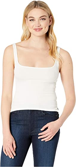 Essential Ribbed Scoop Tank