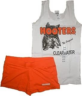 New Girl Uniform Tank/Shorts Florida Small Halloween Costume White Orange