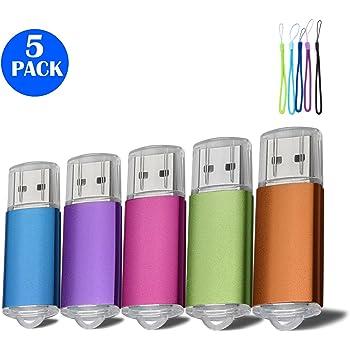 5pcs 16 G Pen Drive de disco de memoria USB Flash Drive USB 2.0 ...