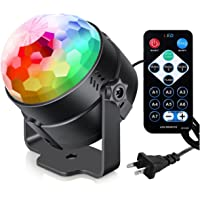 Luditek Sound Activated Party Lights with Remote Control