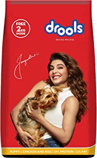 Drools Chicken and Egg Puppy Dry Dog Food, 10kg + 2kg Free Inside