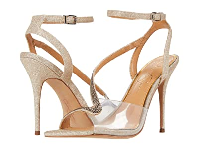 Jessica Simpson Whitley (Champagne/Clear) Women