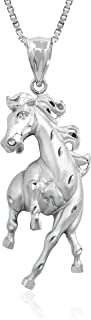 horse jewelry silver