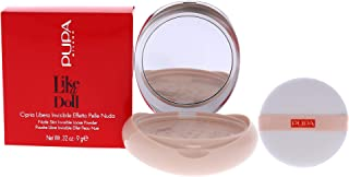Pupa Milano Like A Doll Invisible Loose Powder - For a Radiant and Natural Look - Smooths Skin and Minimizes Blemishes - P...