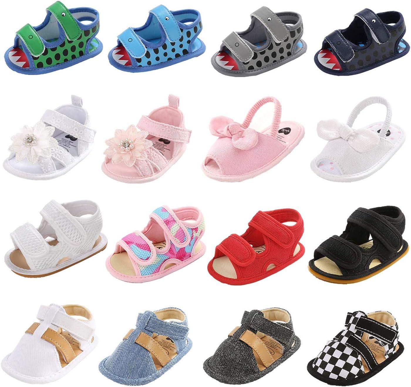 Unisex Baby Boys Girls Summer Sandal Premium R Soft Ranking TOP4 Weekly update Infant Flats
