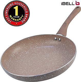 IBELL Induction Base Aluminium Fry Pan, 24 cm, Grey