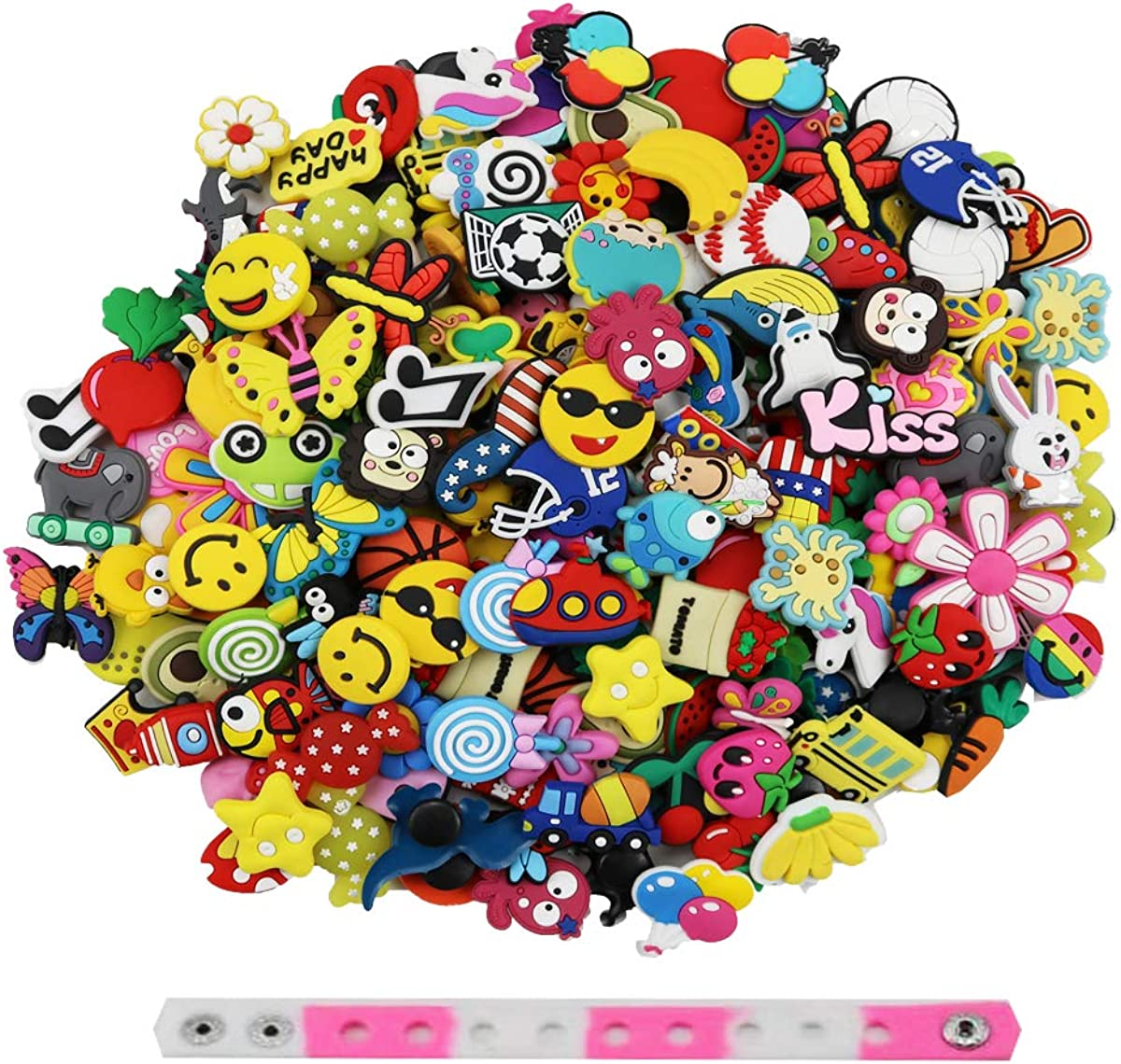 SYSQLP Shoe Sale price Charms Pins Accessories Pack Girls for Boys Teens W Credence