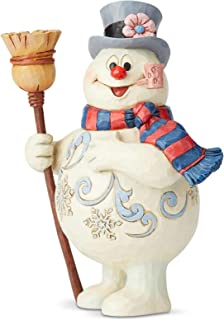 Enesco Frosty The Snowman by Jim Shore Frosty with Broom
