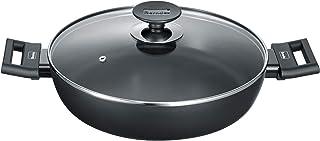 Berndes 11367aluminio Induction–Sartén (28cm, aluminio, color negro