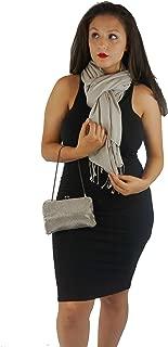 Cashmere Pashmina Group: Solid Pashmina Shawl, Scarf, Wrap & Stole(Regular Size)