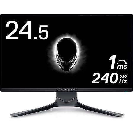 Dell ALIENWARE AW2521HF 24.5インチ ゲーミングモニター (3年間無輝点交換保証/FPS向き/フルHD/IPS非光沢/DP,HDMIx2/縦横回転,高さ調整/1ms/240Hz/NVIDIA® G-SYNC® Compatible/AMD FreeSync™ Premium)