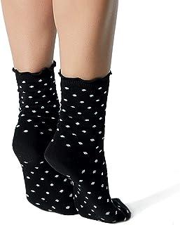 LOVE CLASSIC SOCKS Black Polka Dot Cute, Classy, Stylish and Fun Love Classic Novelty Cotton Crew Socks for Women and Girl...