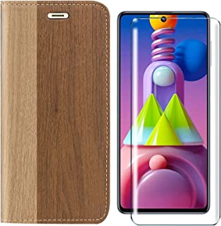 HYMY PU leather Bookstyle Flip Phone fodral Shell för Alcatel 3X 2020 + skärmskydd Screen Protector Protection Film - TPU ...