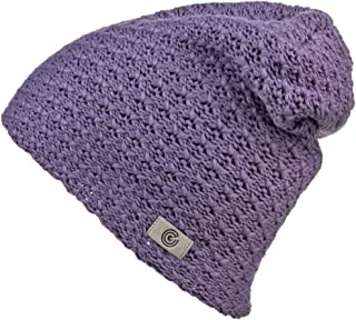 Revony Evony Warm Thick Slouch Beanie - Textured Knit with Soft Inner Lining - One Size