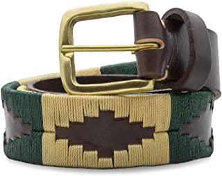 Mens Premium Hand-Stitched Leather Belt