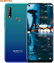 OUKITEL C17 Pro Unlocked Smartphone, International Unlocked Cell Phone Triple Camera Phone Dual SIM with 4+64GB Octa-Core 3900 mAh 6.35 Inches HD+ Screen Android 9.0 Mobile Phone (Neptune Blue)