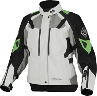 Firstgear 37.5 Kilimanjaro Textile Womens Jacket, Distinct Name: White/Black, Gender: Womens, Primary Color: White, Size: 2XL, Apparel Material: Textile