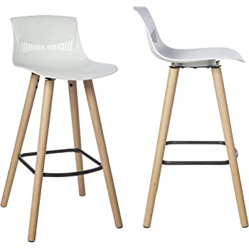 By Demeyere Sydney Lot De 2 Tabourets De Bar Scandinaves Pour