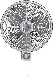 Lasko M16900 Oscillating 16 inch Wall Mount Fan for Indoor Use, Light Grey