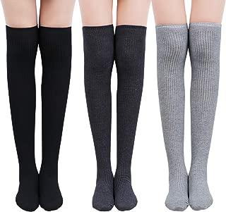 Falke Airport 5 paire de chaussettes montantes taille 39-50 Genou Chaussettes Bas Chaussettes NEUF