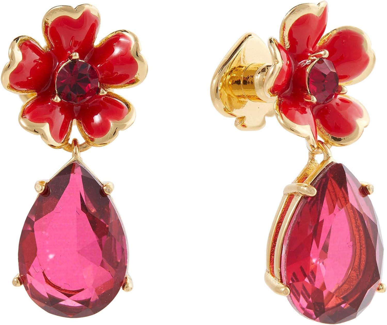 Kate Spade New York 2020モデル Blushing Blooms Earrings Flower Drop 倉