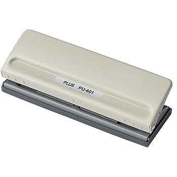 プラス 穴あけパンチ 6穴 バインダー式手帳用 PU-601 34-000