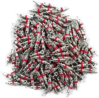 Garneck 100 peças de reposição para válvula de pneu de carro, caminhão, motocicleta, bicicleta. 0,6 cm