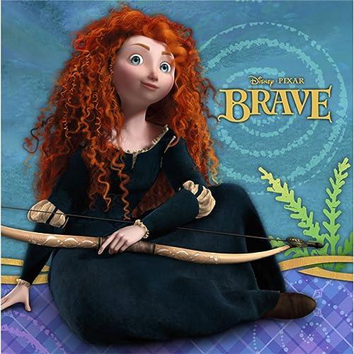 DisneyPixar Brave Dessert Napkins 16 Pack