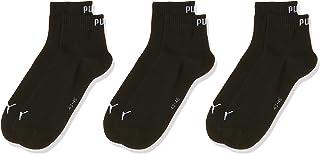 PUMA Unisex Adults UNISEX QUARTER PLAIN 3P Socks (pack of 3)