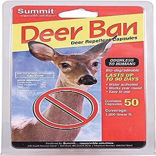 Summit Responsible SOLUTN 2001 50 Count Deer Ban Deer Repellent Capsules