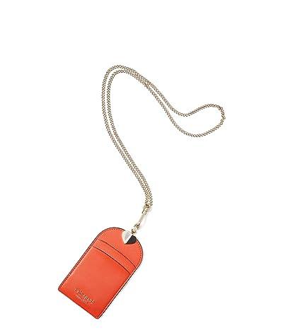 Kate Spade New York Spencer Lanyard (Tamarillo) Handbags