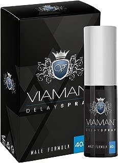 Viaman Spray Retardante - Mejora El Rendimiento Y La Virilidad - Aumenta La Duración De Tus Relaciones Íntimas - Retardante Masculino - 40ml