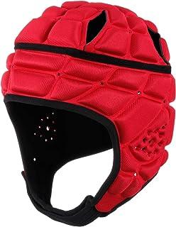 BESPORTBLE Rugby Helmet Headguard Headgear for Soccer Scrum Cap Head Protector Soft Protective Helmet for Adults