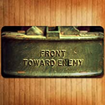 Forever Signs Of Scottsdale Front Toward Enemy Aluminum License Plate Tag New
