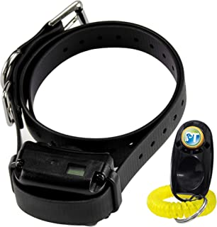 E-Collar BP-504 No Bark Dog Collar - Rechargeable, Humane, Safe, Waterproof, Automatic Learning System, Tone Only, 8 Adjus...