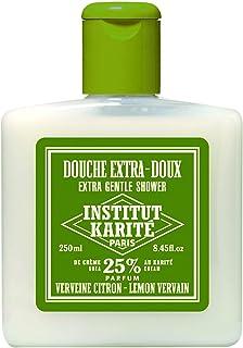 INSTITUT KARITE 25% ジェントルシャワージェル 250ml レモン ヴァーバイン Lemon Vervain Extra Gentle Shower インスティテュート?カリテ