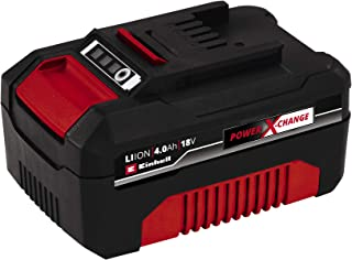 Einhell 4511396 4.0Ah Power X-Change Battery Compatible with All Power X-Change Products, Red