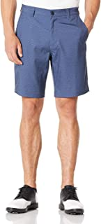 Golf Shorts for Men Stretch Waist 9 Inch Inseam Waterproof Cargo Shorts with Pockets Classic Fit
