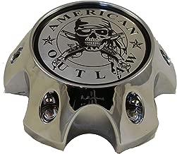 American Outlaw Wheels BC-789 Chrome Custom Wheel Center Caps (Set of 4) NEW!