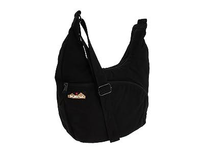 KAVU Sydney Satchel (Black) Satchel Handbags