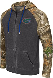 Colosseum University of Florida Gators Men's Camo Full Zip Realtree Hoodie