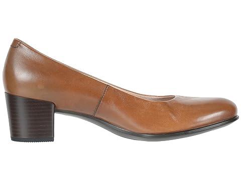 Calf Black ECCO LeatherMink Leather Calf 35 Pump M Shape LeatherCashmere Calf HzTzF64W